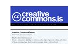 Creative Commons -íslenkt
